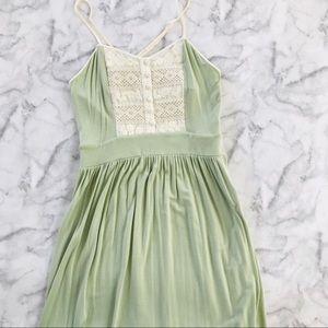 UO KIMCHI BLUE mint green dress